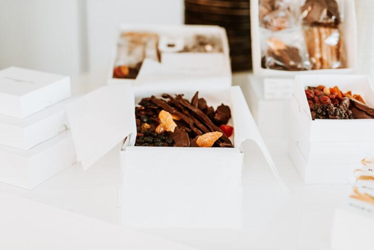 Doos bonbon - fruitchocolade klein