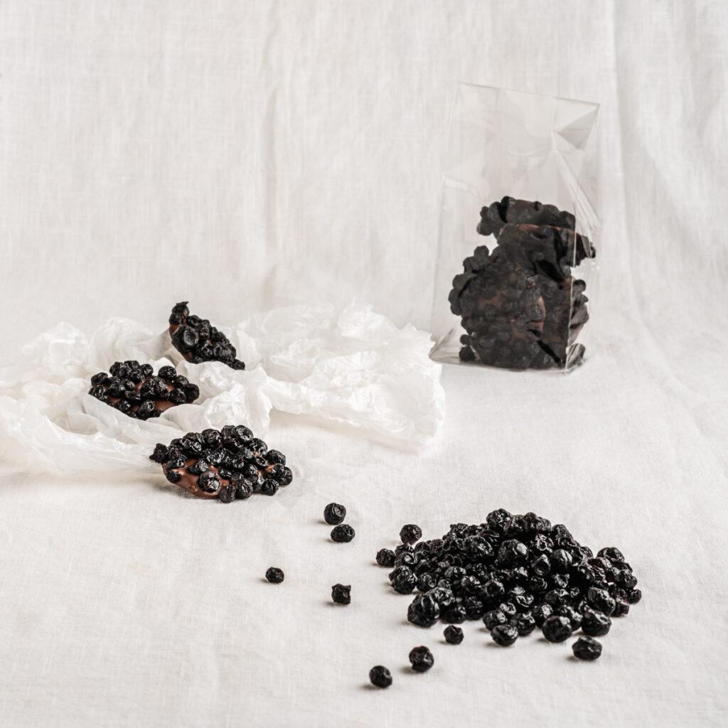 Blauwe Bes fruitchocolade