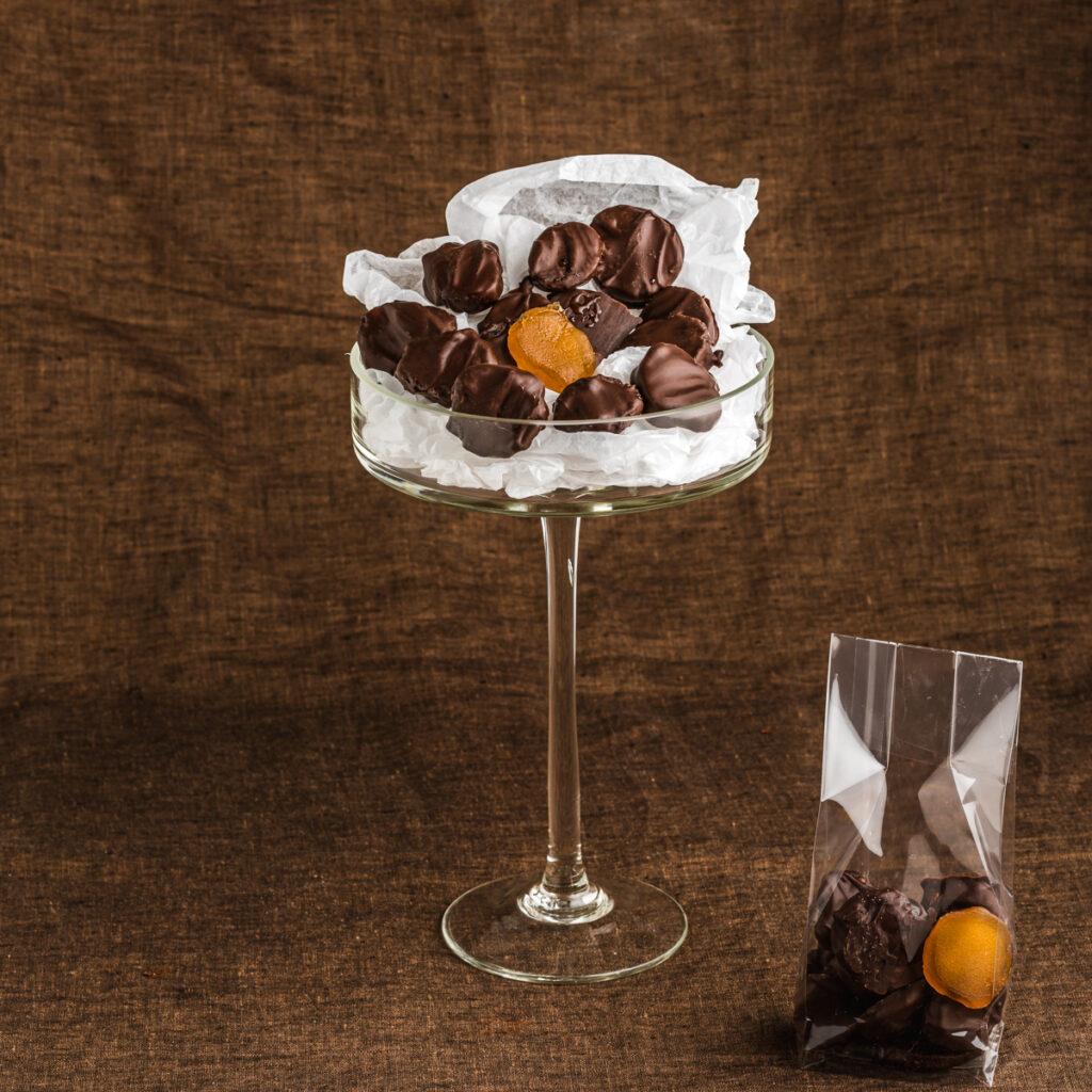 Gember fruitchocolade