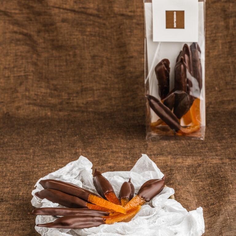 Orangettes fruitchocolade